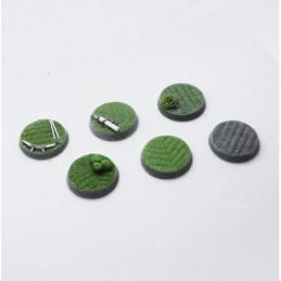 Podstawki Howdah (6x 25 mm)