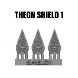 Trójkątna tarcza Thegnów