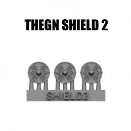Okrągła tarcza Thegnów